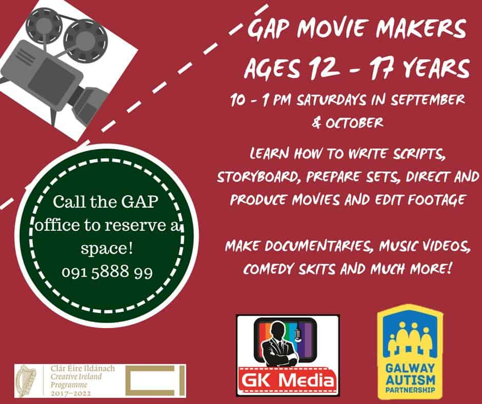 Galway Autism Partnership | Movie Maker's Club