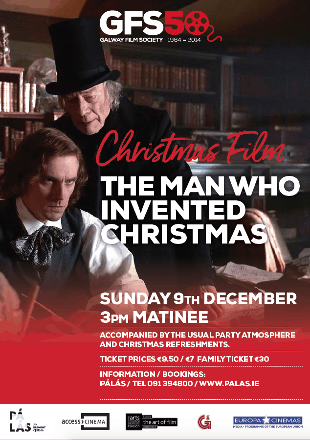 The Man Who Invented Christmas – Galway Film Society