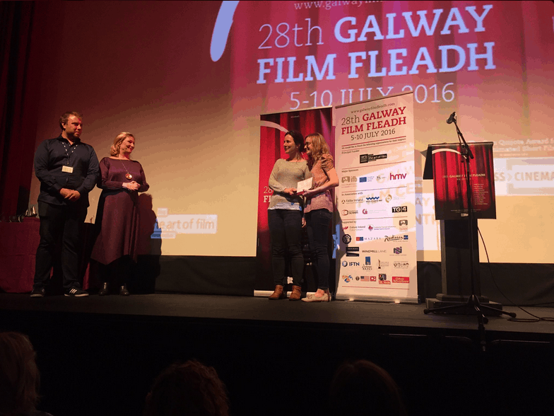 Winners of One Minute Film Festival at the Fleadh