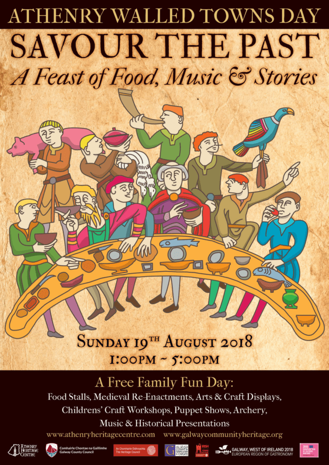Athenry Walled Towns Day | August 19th