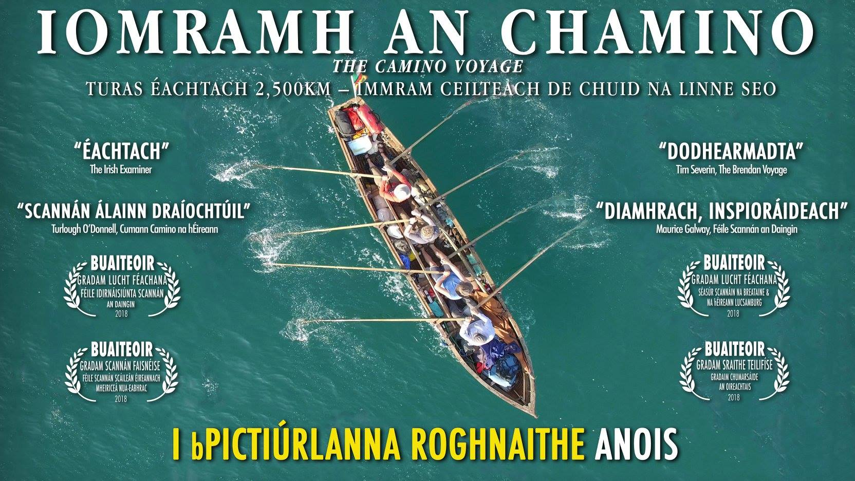 Iomramh an Chamino | The Camino Voyage – An Taibhdhearc – March 8th
