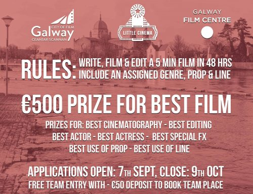 Applications now OPEN for Little Cinema & Galway City of Film 48 Hour Challenge 2020!
